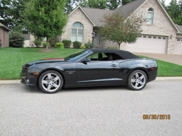 2012 Camero 2ss Convertible 45th Anniversary Special Edition Only