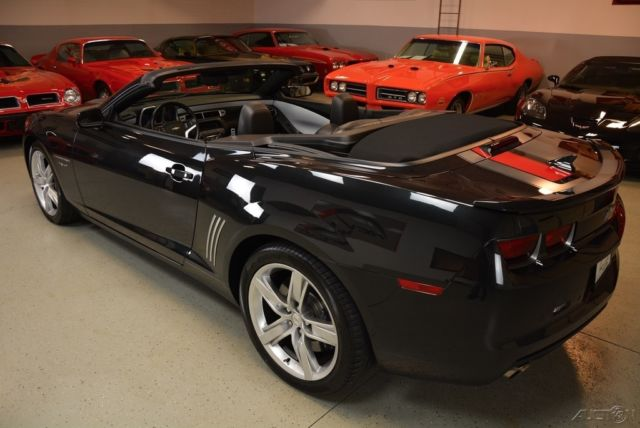 2012 Chevrolet Camaro Ss Convertible 45th Anniversary Free