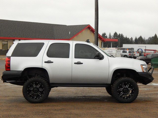 2012 Chevrolet Tahoe 4wd With 8 Quot Lift