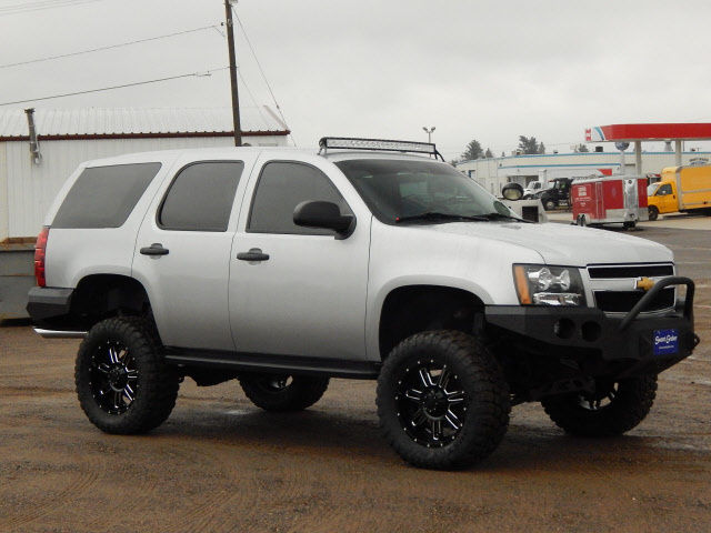 2012 chevrolet tahoe 4wd with 8 lift. Black Bedroom Furniture Sets. Home Design Ideas