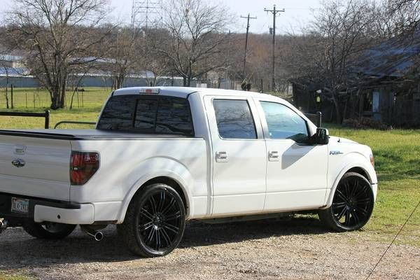2012 ford f 150 fx2 crew cab pickup 4 door 35l lowered with 24 2012 ford f 150 fx2 crew cab pickup 4 door 35l lowered with 24 kmc wheels sciox Image collections