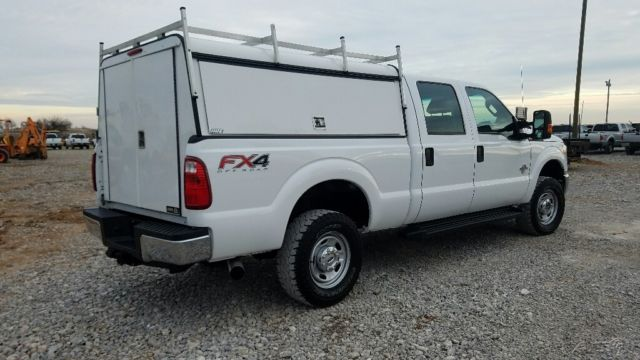 F250 Camper Shell >> 2012 Ford F-250 4wd Crew Cab Short Bed Utility Camper ...