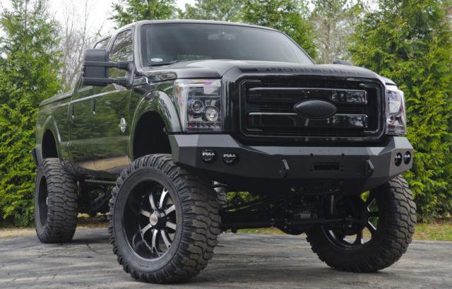 2012 Ford f250 4x4 Diesel Black Ops *Low Miles* *Custom*