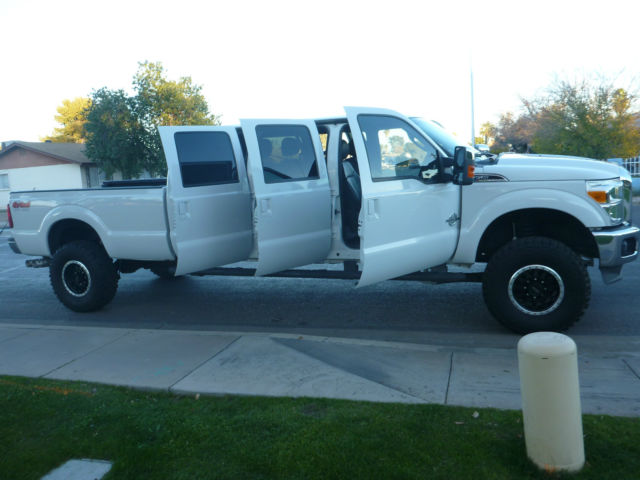 2012 Ford F350 Custom 6 Door Truck 4x4 Diesel 12 Six Dr F250 F450 F550 Seats 8