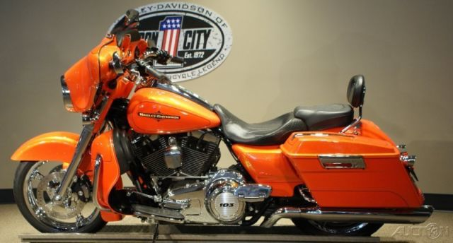 Jim Click Used Cars >> 2012 Harley-Davidson FLHX Street Glide Tequila Sunrise & H ...