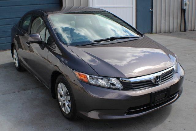2012 honda civic lx automatic factory warranty 39 mpg for Honda civic warranty