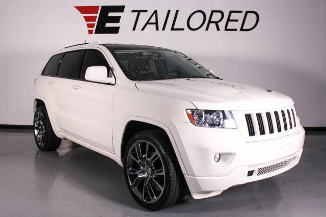 2012 Jeep Grand Cherokee Laredo, SRT Wheels, Aftermarket ...