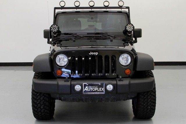 2012 Jeep Wrangler Unlimited Sport Led Spotlights Nitto Tires