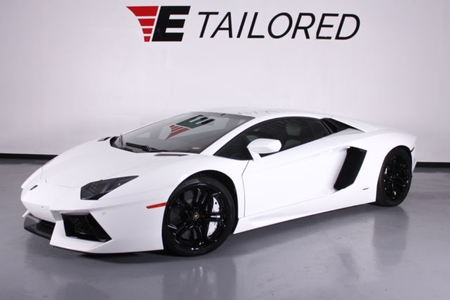 2012 Lamborghini Aventador Lp700 4 2861 Miles Factory Extended