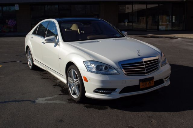 2012 mercedes benz s class 4dr sdn s550 white 4 matic amg for Mercedes benz s550 price 2012