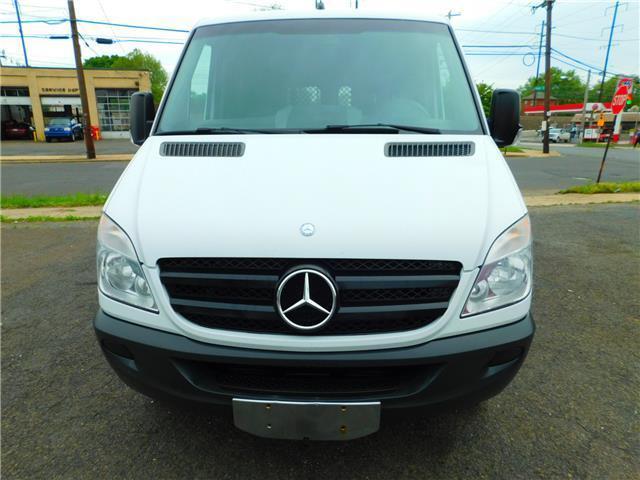 2012 mercedes benz sprinter cargo vans low mileage 79 157 for Mercedes benz sprinter gas mileage