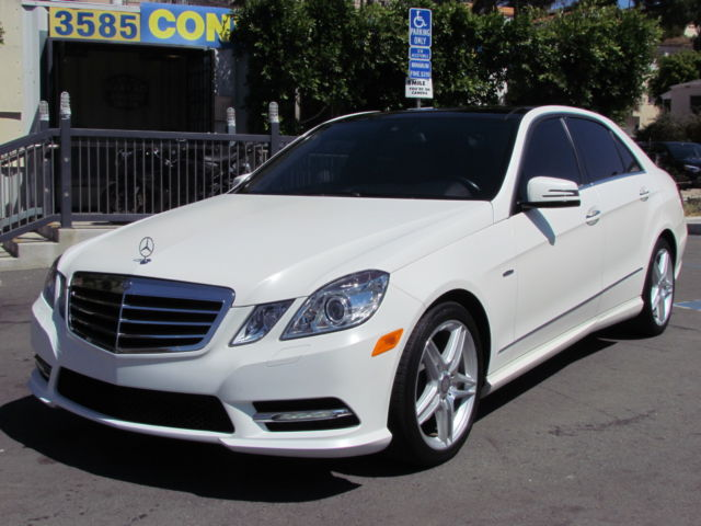 2012 Mercedes E350 Matte White 3950 From Mb Loaded