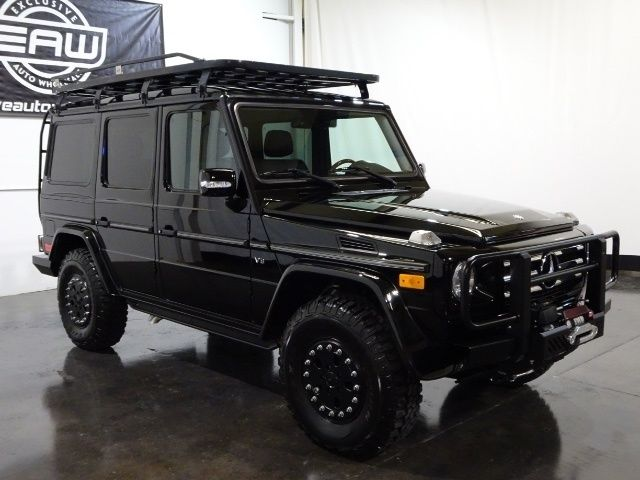 2012 MERCEDES G550 AWD 5 5L V8 4X4 52k Miles 2 5''Lift Hannibal Roof