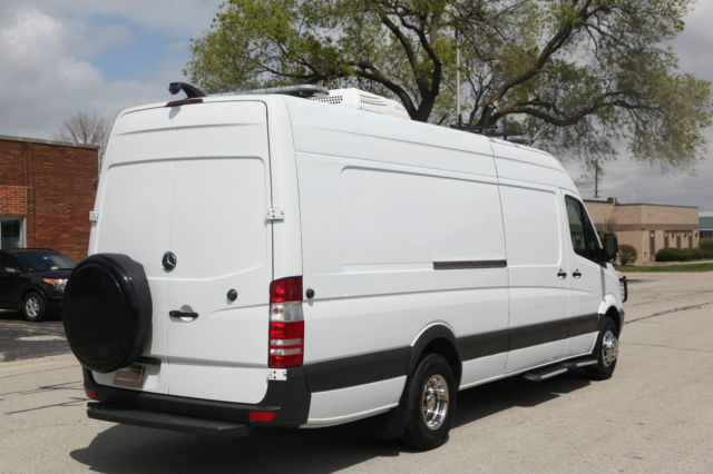2012 mercedes sprinter 3500 170 ext rv camper office road