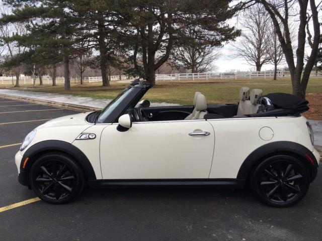 2012 mini cooper s convertible pepper white polar beige. Black Bedroom Furniture Sets. Home Design Ideas