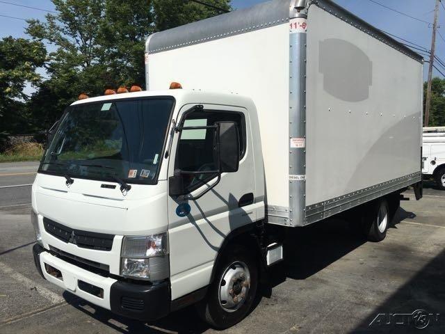 2012 Mitsubishi Fuso FE160 Diesel 16Ft Box Truck, 128k, Lift