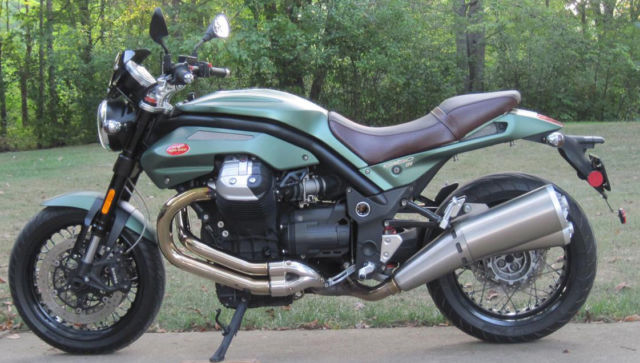 2012 moto guzzi griso se 1200 in tenni green. Black Bedroom Furniture Sets. Home Design Ideas
