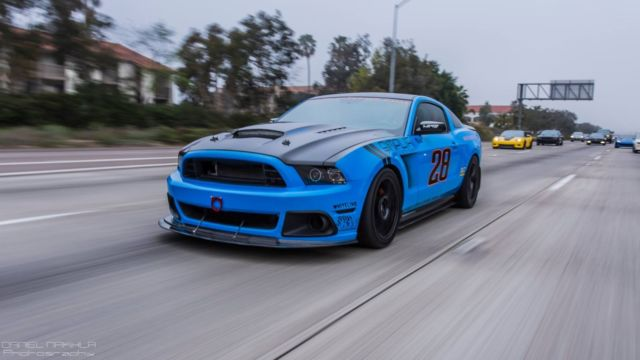 2012 Mustang GT Supercharged - one of kind SEMA show car