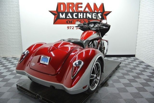 Used Cars In Dallas Tx >> 2012 Victory Cross Country CSC Trike *California Sidecar ...