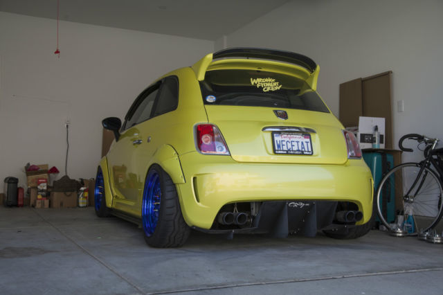 2012 Widebody Abarth Extremely Modified With Plenty Of Extras