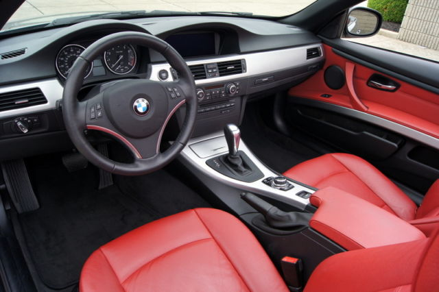 2013 Bmw 328i Convertible Only 28k Miles Nav Premium Package Red Interior