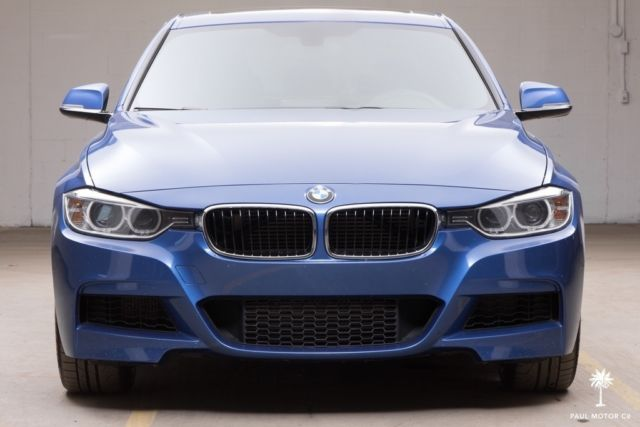 2013 bmw 335i xdrive m performance 46 432 miles estoril blue m sport warranty. Black Bedroom Furniture Sets. Home Design Ideas