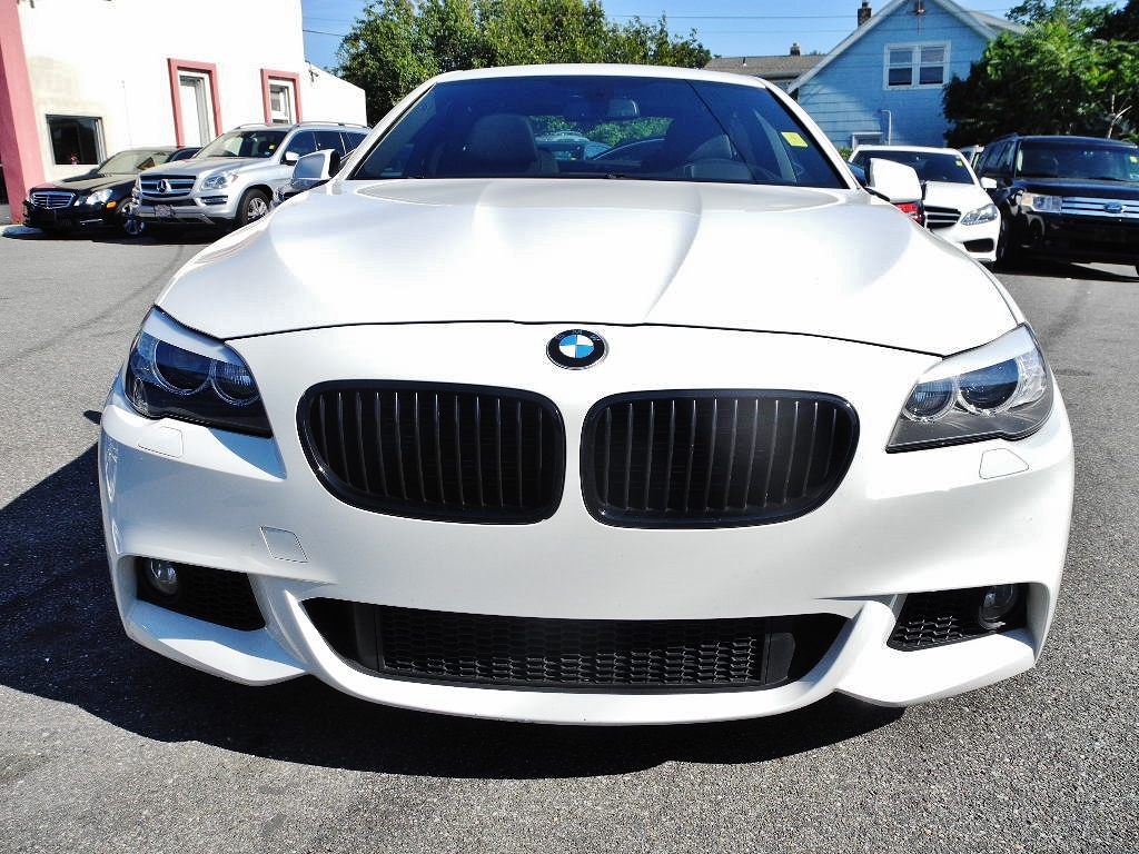 2013 bmw 5 series 535i m sport package 42554 miles white. Black Bedroom Furniture Sets. Home Design Ideas