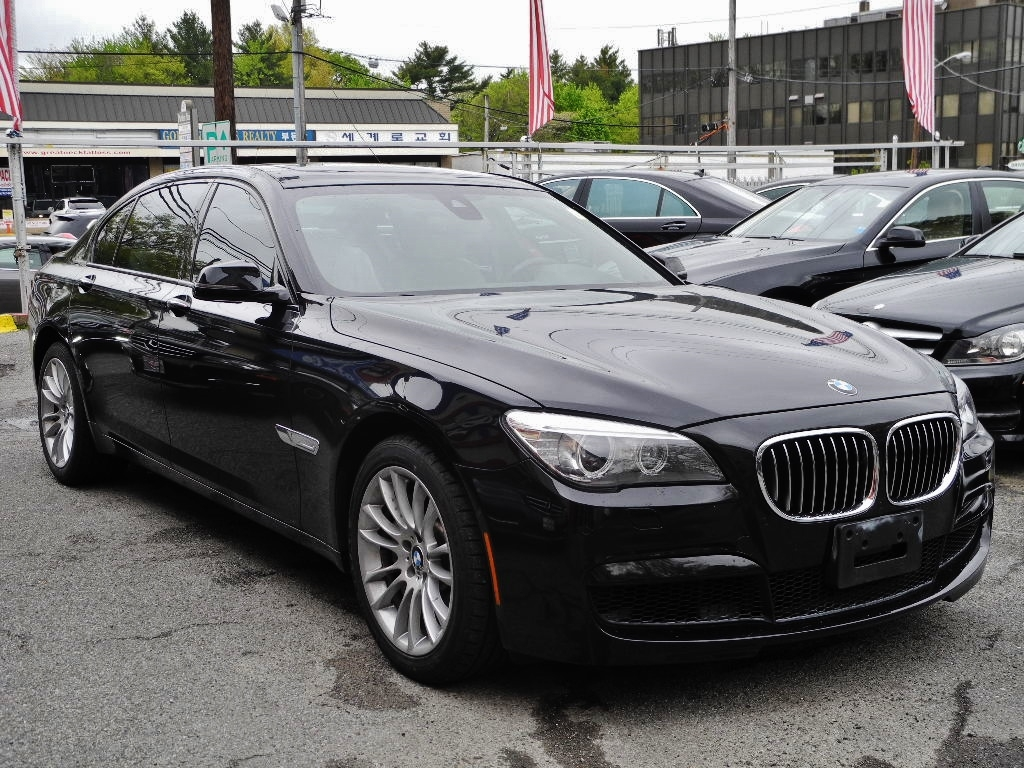 2013 bmw 7 series 750li m sport package 29554 miles black sedan 4 4l v8 gas twin. Black Bedroom Furniture Sets. Home Design Ideas