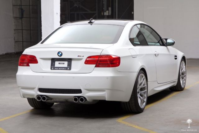 2013 bmw m3 e92 dct competition package alpine white fox red 18 392 miles. Black Bedroom Furniture Sets. Home Design Ideas