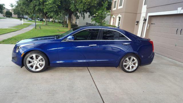 2013 Cadillac Ats 3 6 Luxury Edition Rare Blue Color