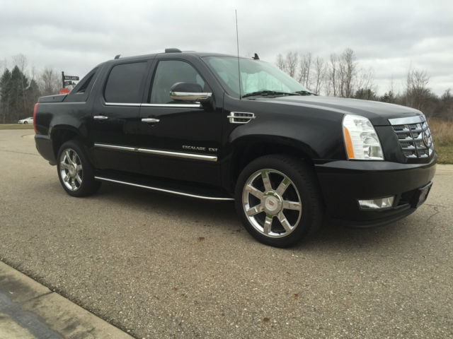 2013 cadillac escalade ext luxury black black nav roof 22 39 s perfect truck. Black Bedroom Furniture Sets. Home Design Ideas