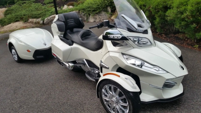 2013 Can Am Spyder Rt Limited With Matching Trailer