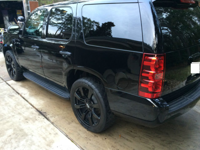 2013 Chevrolet Tahoe Police PPV Whipple Supercharger 22 ...
