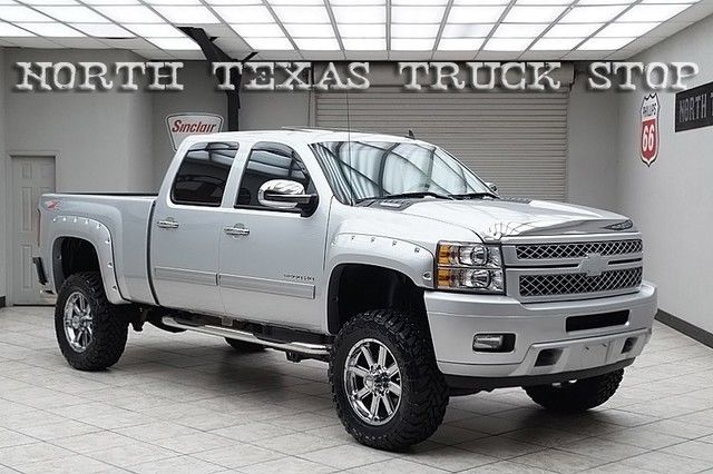 2013 Chevy 2500hd Diesel 4x4 Ltz Z71 Sunroof Lifted Vented