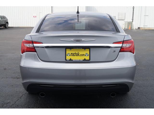 2013 Chrysler 200 Touring Sedan Silver Automatic Flex Fuel