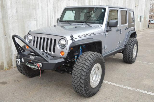 2013 custom built lifted rock crawler jeep wrangler unlimited rubicon 4 door. Black Bedroom Furniture Sets. Home Design Ideas