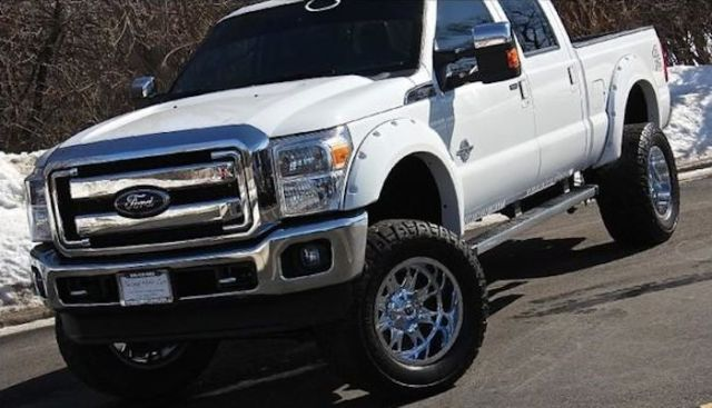 2013 F250 6.7 Diesel Lifted with 20k in Upgrades White/Black
