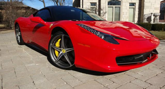 Ferrari 458 Options List Auto Cars