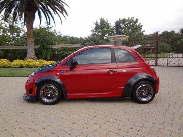 Fiat Abarthm Widebodyroad Race Motorsports Of Carbon Fiber Upgra