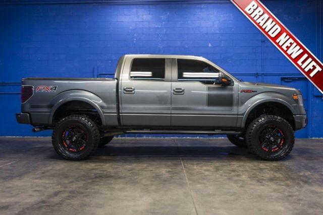 2013 ford f 150 fx4 super crew turbo 3 5l v6 ecoboost lifted pickup truck. Black Bedroom Furniture Sets. Home Design Ideas