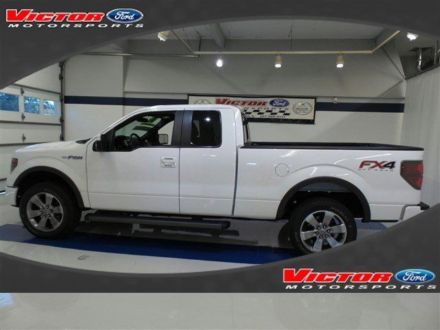 2013 ford f 150 fx4 supercab 4x4 ford certified 24686 miles white extended cab p. Black Bedroom Furniture Sets. Home Design Ideas