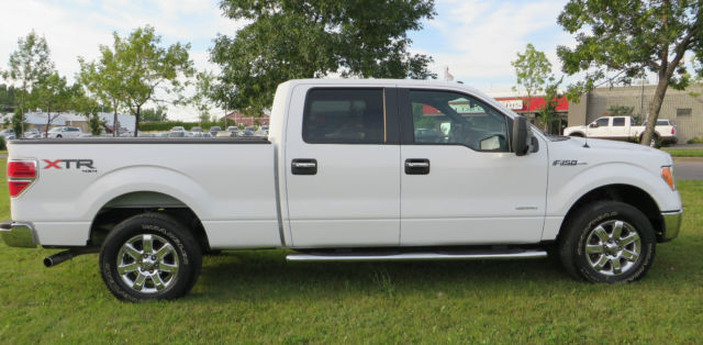 2013 ford f 150 xlt 4x4 supercrew ecoboost v6 3 5l rear cam max tow step. Black Bedroom Furniture Sets. Home Design Ideas