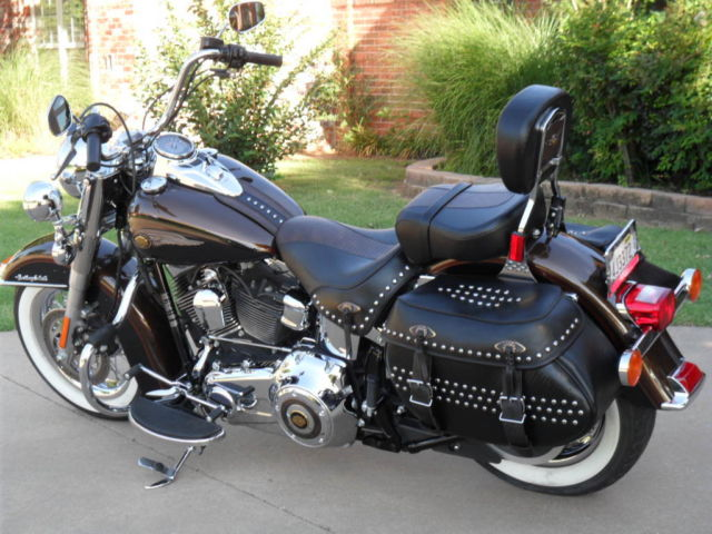 Used Cars Okc >> 2013 Harley Davidson 110th Anniversary Heritage Softail Classic 5k miles!