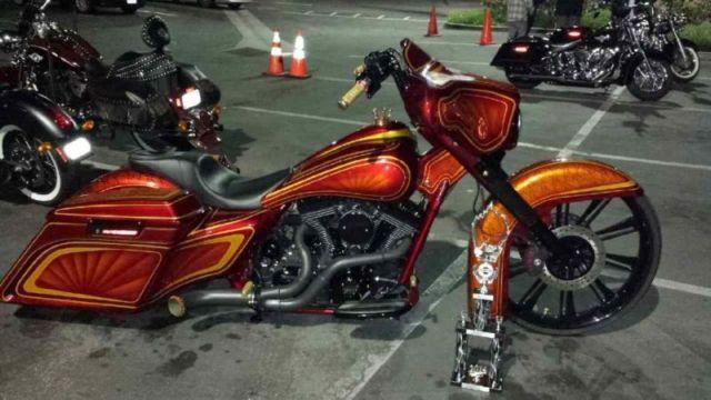 "Paint Job Cost >> 2013 Harley Davidson Street Glide - 26"" Wheel Custom Bagger (Show Bike)"
