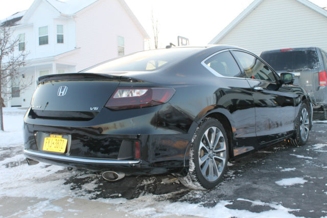 2013 honda accord coupe ex l v6 with navigation fully loaded for 2013 honda accord ex l for sale