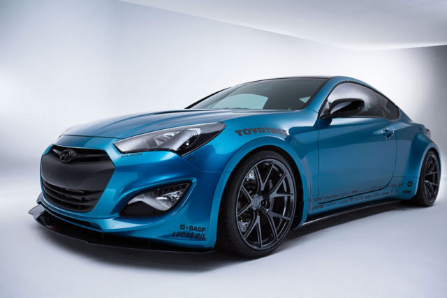 2013 hyundai genesis coupe 2 0t r spec 2 door widebody custom paint low miles. Black Bedroom Furniture Sets. Home Design Ideas