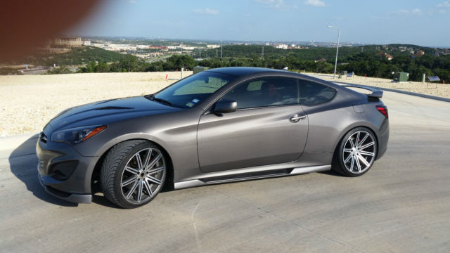 2013 Hyundai Genesis Coupe 2 0t R Spec Coupe 2 Door 2 0l W
