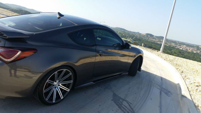 2013 Hyundai Genesis Coupe 2 0t R Spec Coupe 2 Door 2 0l W Mods