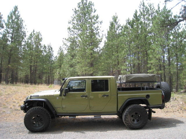2013 Jeep Double Cab Rubicon Pickup Brute With 5 7 Hemi