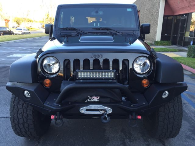 2013 jeep wrangler moab edition low miles 4x4 extended. Cars Review. Best American Auto & Cars Review